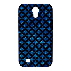 Circles3 Black Marble & Deep Blue Water (r) Samsung Galaxy Mega 6 3  I9200 Hardshell Case by trendistuff
