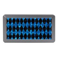 Diamond1 Black Marble & Deep Blue Water Memory Card Reader (mini) by trendistuff