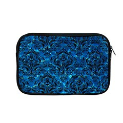 Damask1 Black Marble & Deep Blue Water (r) Apple Macbook Pro 13  Zipper Case by trendistuff