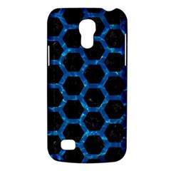 Hexagon2 Black Marble & Deep Blue Water Galaxy S4 Mini by trendistuff