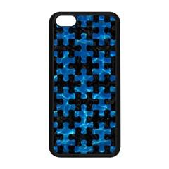 Puzzle1 Black Marble & Deep Blue Water Apple Iphone 5c Seamless Case (black) by trendistuff