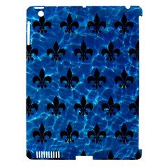 Royal1 Black Marble & Deep Blue Water Apple Ipad 3/4 Hardshell Case (compatible With Smart Cover) by trendistuff