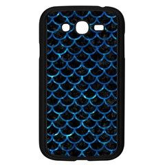 Scales1 Black Marble & Deep Blue Water Samsung Galaxy Grand Duos I9082 Case (black) by trendistuff