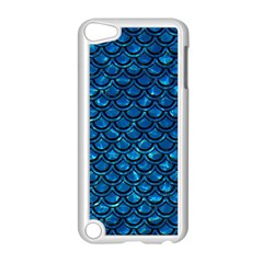 Scales2 Black Marble & Deep Blue Water (r) Apple Ipod Touch 5 Case (white) by trendistuff