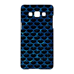 Scales3 Black Marble & Deep Blue Water Samsung Galaxy A5 Hardshell Case  by trendistuff
