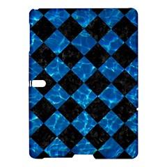 Square2 Black Marble & Deep Blue Water Samsung Galaxy Tab S (10 5 ) Hardshell Case