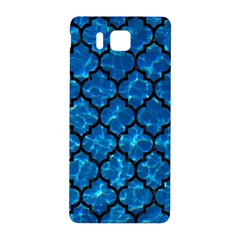 Tile1 Black Marble & Deep Blue Water (r) Samsung Galaxy Alpha Hardshell Back Case by trendistuff