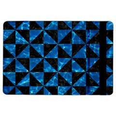Triangle1 Black Marble & Deep Blue Water Ipad Air 2 Flip by trendistuff