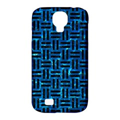 Woven1 Black Marble & Deep Blue Water (r) Samsung Galaxy S4 Classic Hardshell Case (pc+silicone) by trendistuff