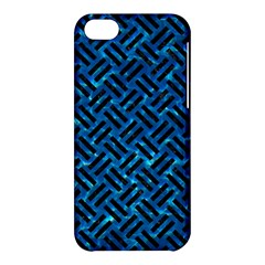 Woven2 Black Marble & Deep Blue Water (r) Apple Iphone 5c Hardshell Case by trendistuff