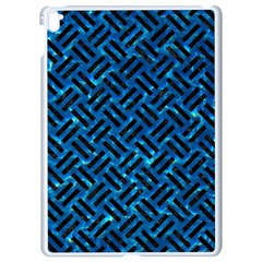 Woven2 Black Marble & Deep Blue Water (r) Apple Ipad Pro 9 7   White Seamless Case by trendistuff
