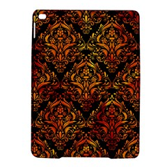 Damask1 Black Marble & Fire Ipad Air 2 Hardshell Cases by trendistuff