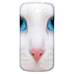 Beautiful White Face Cat Animals Blue Eye Samsung Galaxy S3 S Iii Classic Hardshell Back Case by Mariart