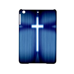 Blue Cross Christian Ipad Mini 2 Hardshell Cases by Mariart