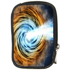 A Blazar Jet In The Middle Galaxy Appear Especially Bright Compact Camera Cases by Mariart
