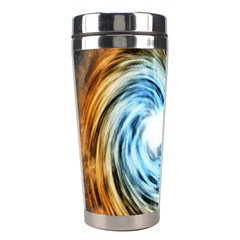 A Blazar Jet In The Middle Galaxy Appear Especially Bright Stainless Steel Travel Tumblers by Mariart