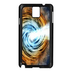 A Blazar Jet In The Middle Galaxy Appear Especially Bright Samsung Galaxy Note 3 N9005 Case (black) by Mariart
