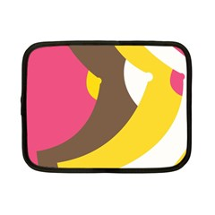 Breast Pink Brown Yellow White Rainbow Netbook Case (small)  by Mariart