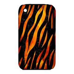 Skin3 Black Marble & Fire Iphone 3s/3gs by trendistuff