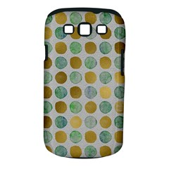 Green And Golden Dots Pattern                      Samsung Galaxy S Ii I9100 Hardshell Case (pc+silicone) by LalyLauraFLM