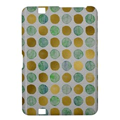 Green And Golden Dots Pattern                      Samsung Galaxy Premier I9260 Hardshell Case by LalyLauraFLM