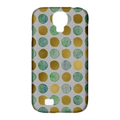 Green And Golden Dots Pattern                      Samsung Galaxy Tab 3 (10 1 ) P5200 Hardshell Case by LalyLauraFLM