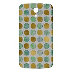 Green And Golden Dots Pattern                      Samsung Galaxy Mega I9200 Hardshell Back Case by LalyLauraFLM