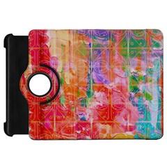 Colorful Watercolors Pattern                      Apple Ipad Mini Flip 360 Case by LalyLauraFLM
