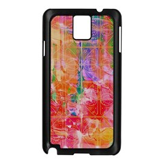 Colorful Watercolors Pattern                      Samsung Galaxy Note 3 N9005 Case (white) by LalyLauraFLM