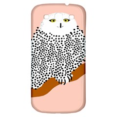 Animals Bird Owl Pink Polka Dots Samsung Galaxy S3 S Iii Classic Hardshell Back Case by Mariart