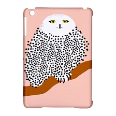 Animals Bird Owl Pink Polka Dots Apple Ipad Mini Hardshell Case (compatible With Smart Cover) by Mariart