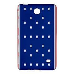 British American Flag Red Blue Star Samsung Galaxy Tab 4 (8 ) Hardshell Case  by Mariart