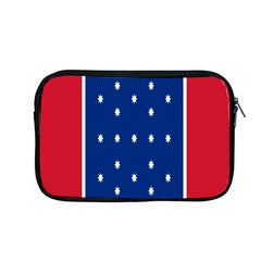 British American Flag Red Blue Star Apple Macbook Pro 13  Zipper Case by Mariart