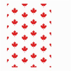 Canadian Maple Leaf Pattern Small Garden Flag (two Sides) by Mariart