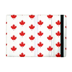 Canadian Maple Leaf Pattern Ipad Mini 2 Flip Cases by Mariart