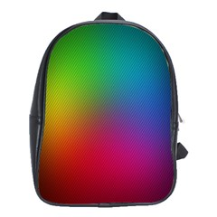 Bright Lines Resolution Image Wallpaper Rainbow School Bag (xl) by Mariart