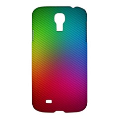 Bright Lines Resolution Image Wallpaper Rainbow Samsung Galaxy S4 I9500/i9505 Hardshell Case by Mariart