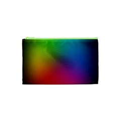 Bright Lines Resolution Image Wallpaper Rainbow Cosmetic Bag (xs) by Mariart