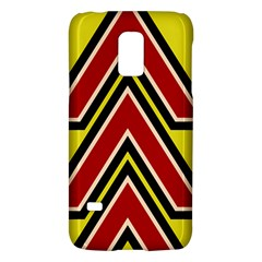 Chevron Symbols Multiple Large Red Yellow Galaxy S5 Mini by Mariart