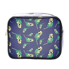 Canaries Budgie Pattern Bird Animals Cute Mini Toiletries Bags by Mariart