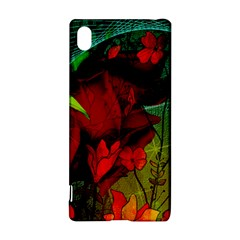 Flower Power, Wonderful Flowers, Vintage Design Sony Xperia Z3+ by FantasyWorld7