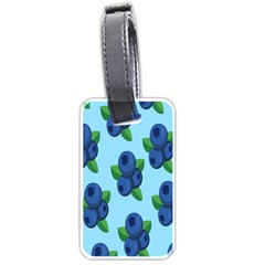 Fruit Nordic Grapes Green Blue Luggage Tags (two Sides) by Mariart