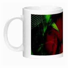 Flower Power, Wonderful Flowers, Vintage Design Night Luminous Mugs by FantasyWorld7