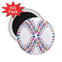 Free Symbol Hands 2 25  Magnets (100 Pack)  by Mariart