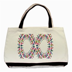 Free Symbol Hands Basic Tote Bag by Mariart