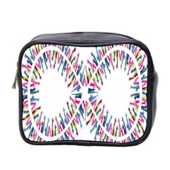 Free Symbol Hands Mini Toiletries Bag 2 Side by Mariart