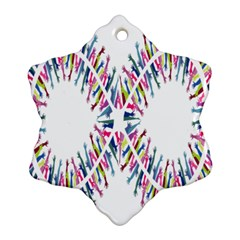 Free Symbol Hands Ornament (snowflake) by Mariart