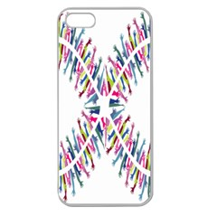 Free Symbol Hands Apple Seamless Iphone 5 Case (clear) by Mariart