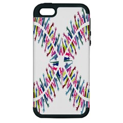 Free Symbol Hands Apple Iphone 5 Hardshell Case (pc+silicone) by Mariart