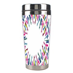 Free Symbol Hands Stainless Steel Travel Tumblers by Mariart